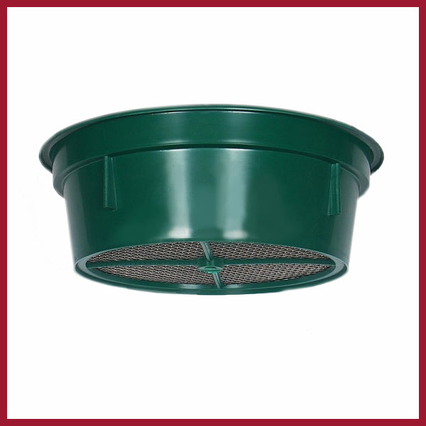 Sieve – Keene green stackable  12 mesh
