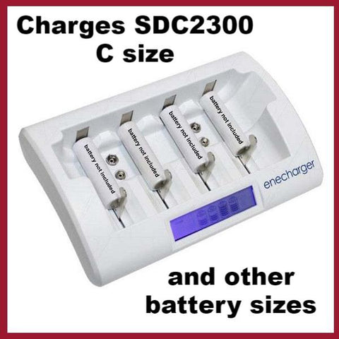 Charger - SDC2300 Mains 240V and 12V - New style