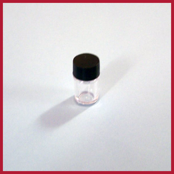Sample bottle - Plastic half ounce