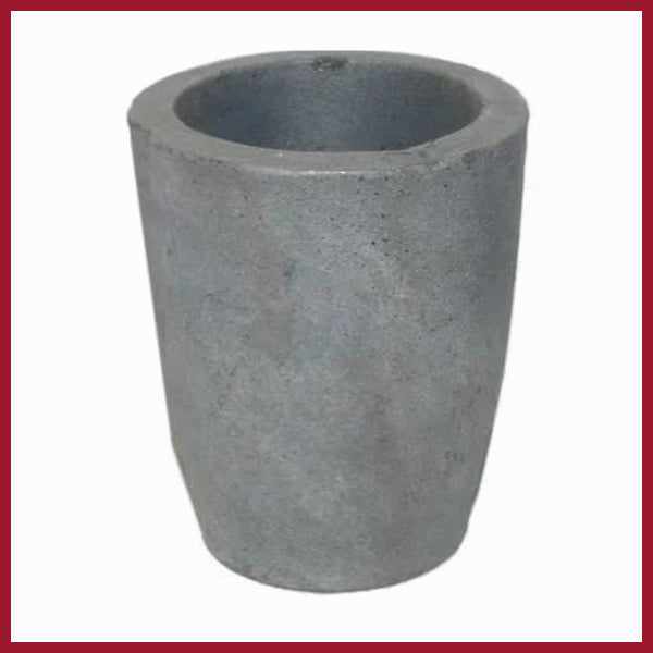Crucible - Graphite for flame type furnace 1.0 kg