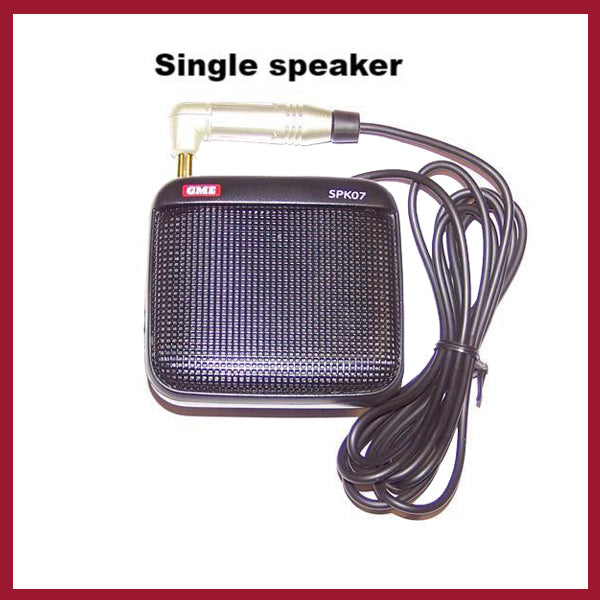 Speaker - Single or Dual