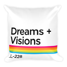 Load image into Gallery viewer, Dreams + Visions Pillow