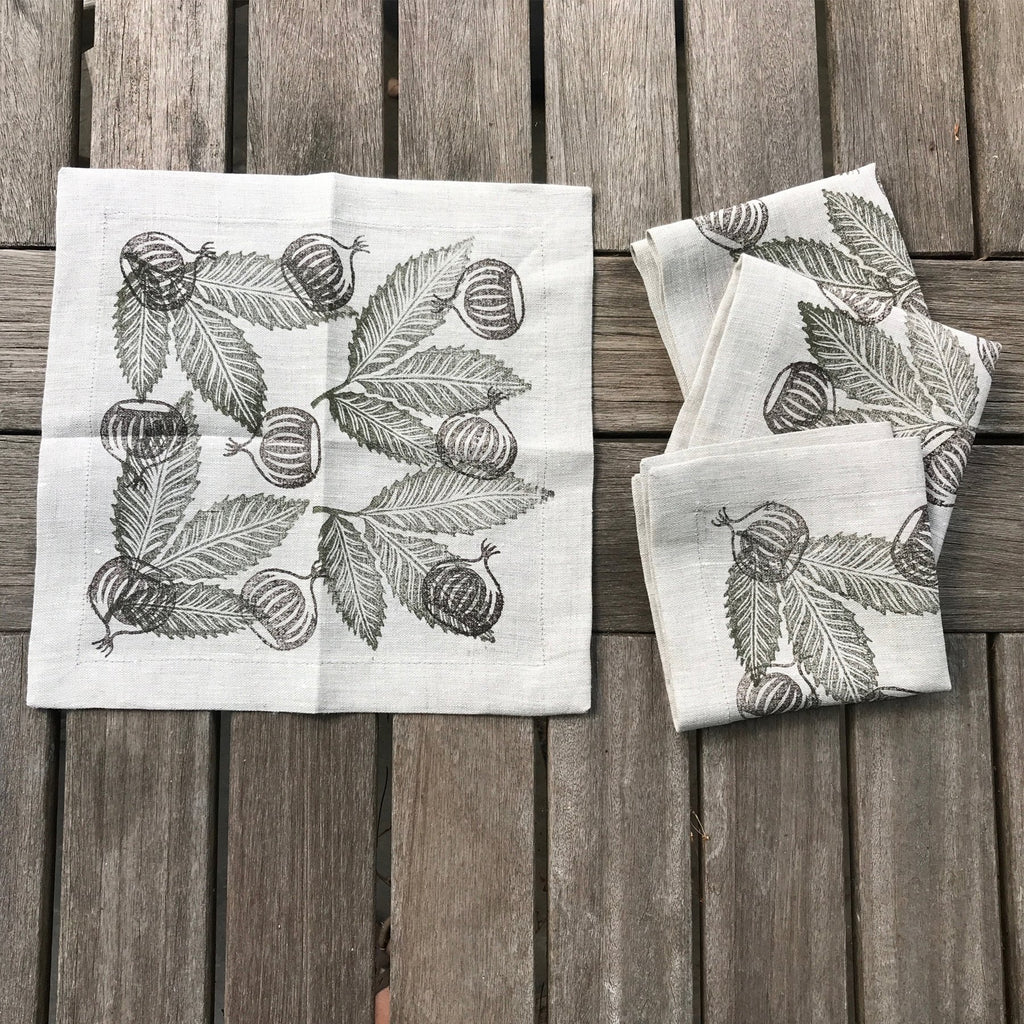 American Chestnut Cocktail Napkin