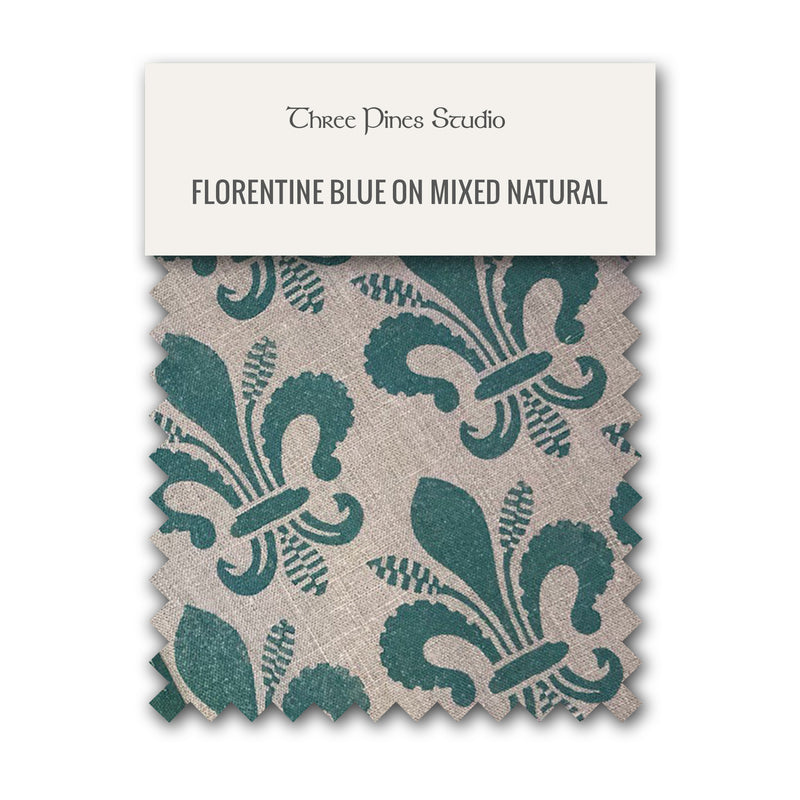 Florentine Lily Table Runner