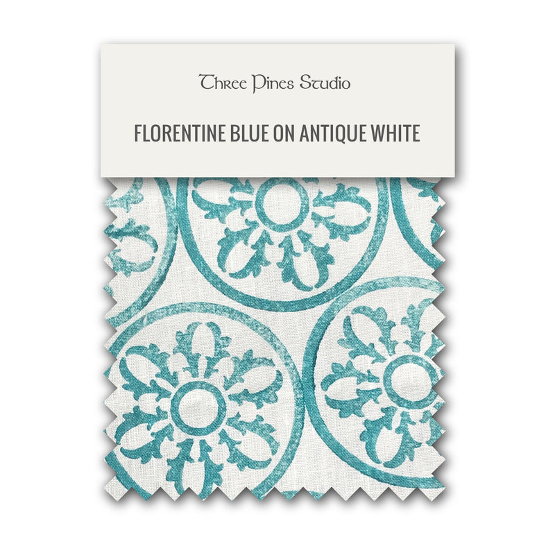 Florentine Rose Cocktail Napkin