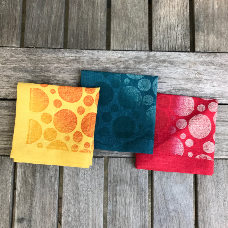 Polka Dot Cocktail Napkin