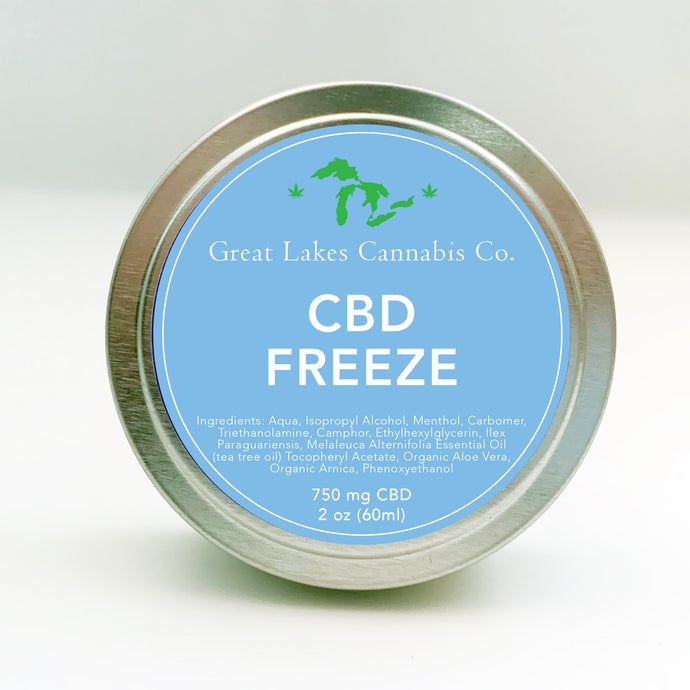 CBD Freeze 750 mg CBD