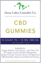 Load image into Gallery viewer, CBD Gummies