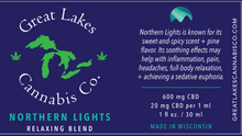 Load image into Gallery viewer, Relaxing CBD Oil - Northern Lights