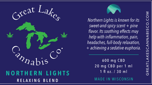 Relaxing CBD Oil - Northern Lights