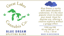 Load image into Gallery viewer, Uplifting CBD Oil - Blue Dream