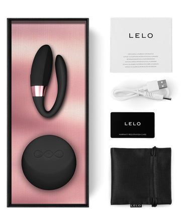 LELO TIANI AMBER ROSE GOLD COUPLES MASSAGER