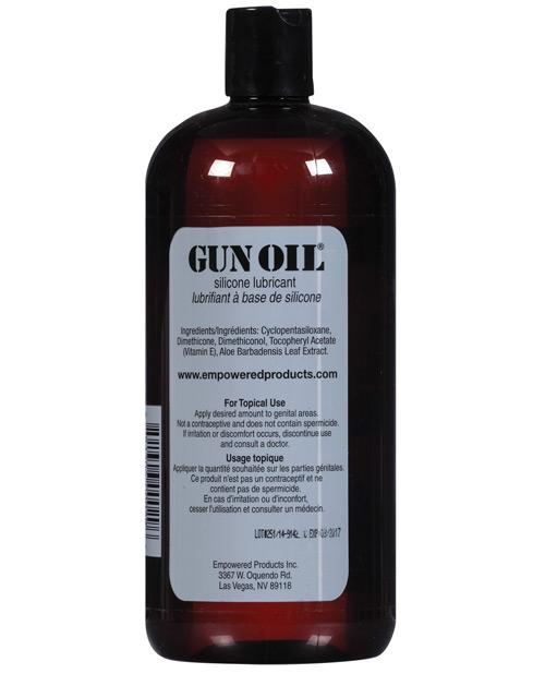 Gun Oil is the premium silicone lubricant that keep you super slippery.
