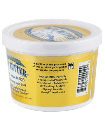 16 Oz Tub of Boy Butter Gold Lubricant.