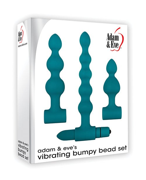 Adam & Eve Vibrating Anal Bumpy Bead Set