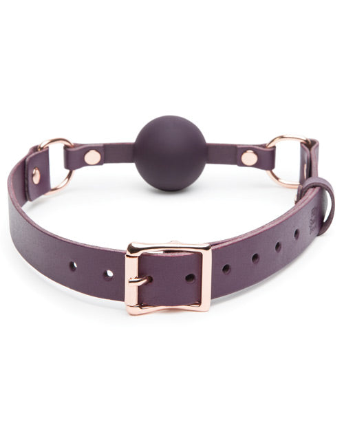 Fifty Shades Cherished Collection Leather Ball Gag