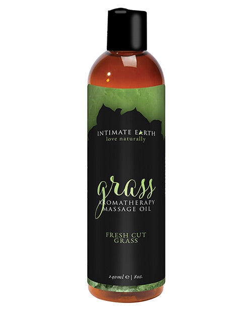 Intimate Earth Massage Oil - 240 Ml Grass