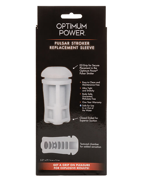 Optimum Power Pulsar Stroker Replacement Sleeve