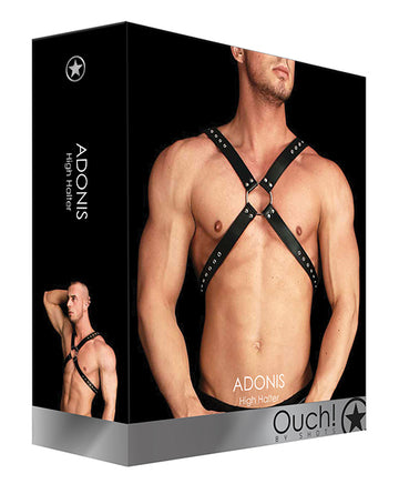 Shots Ouch Adonis High Halter - Black