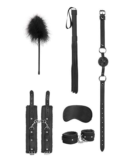 Shots Ouch Beginners Bondage Kit - Black