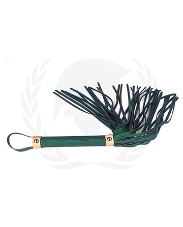 Spartacus Pu Whip - Green