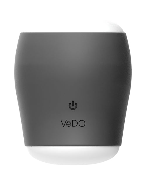 Vedo Grip Rechargeable Vibrating Sleeve - Just Black