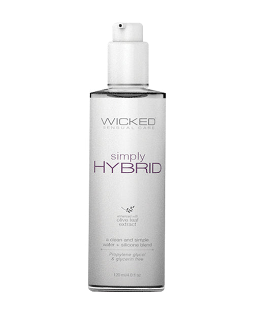 Wicked Sensual Care Simply Hybrid Lubricant - 4 Oz