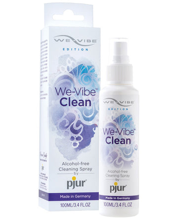 We-vibe Clean By Pjur - 3.4 Oz Clear