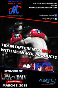 Mongkol Muay Thai sponsored the fight on March 3rd , at Washington DC