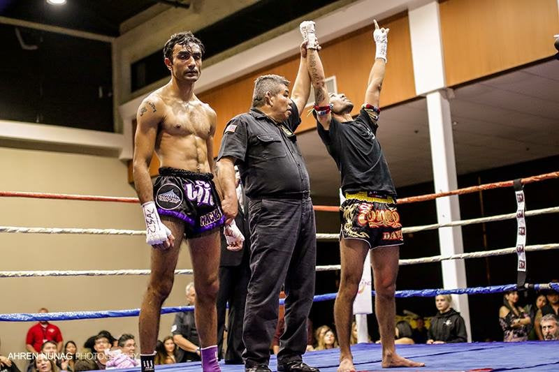 Mongkol Muay Thai is the proud sponsor of Professional Muay Thai fighter David Huertal