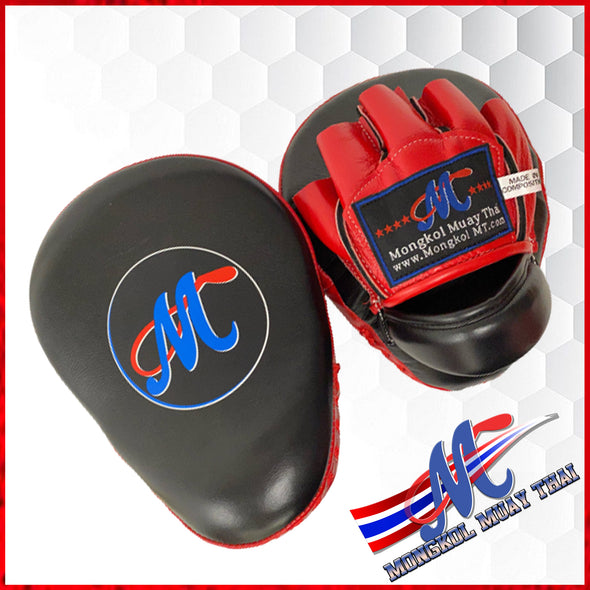 Mongkol Muay Thai Focus Mitts (sold out) restock soon.