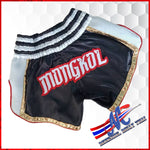 Mongkol Muay Thai  Shorts Black Kick