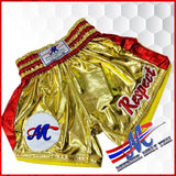 thai shorts respect gold m,l
