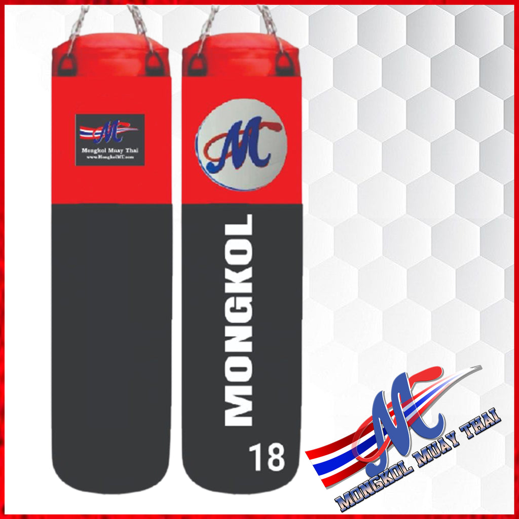 NEW PRODUCT Mongkol Heavy Bag Red/black #18  Limited