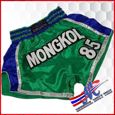 muay thai shorts green#85 m, l ,xl green blue