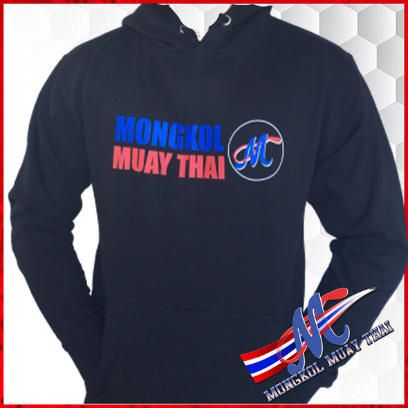 Mongkol Hoodies - Mongkol Muay Thai Logo - Pull Over Black