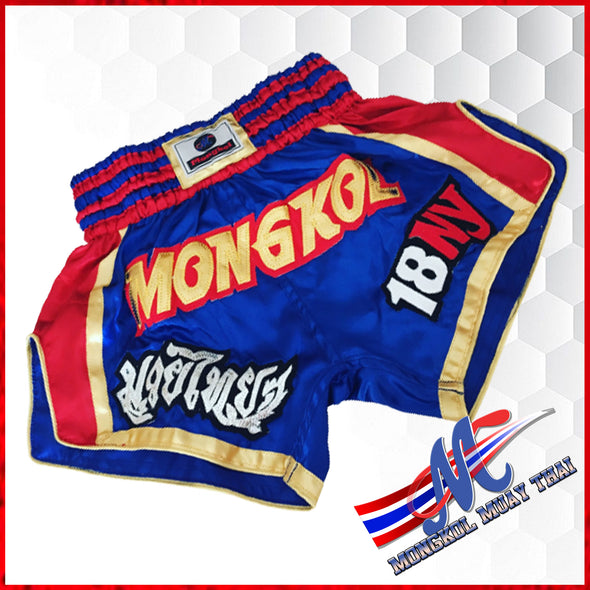 Mongkol Muay Thai  Shorts 18NY Blue