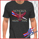Dark gray tee shirt ,thai emblem