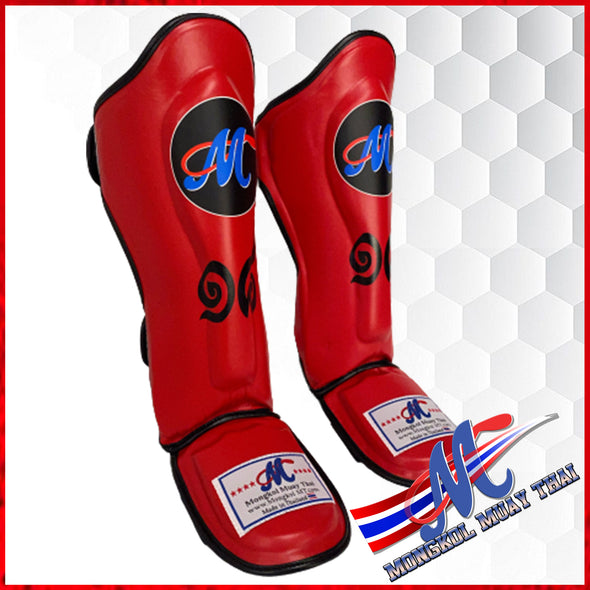 Mongkol Shinguards  Red No18 in Thai number