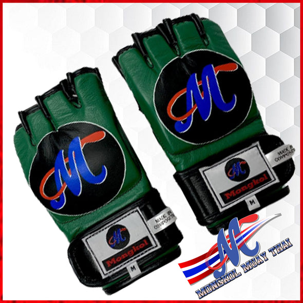 Mongkol MMA gloves Green