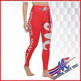 Mongkol  Leggings High waist with coin pocket  Muay Thai, Yoga, Pilates Leggings