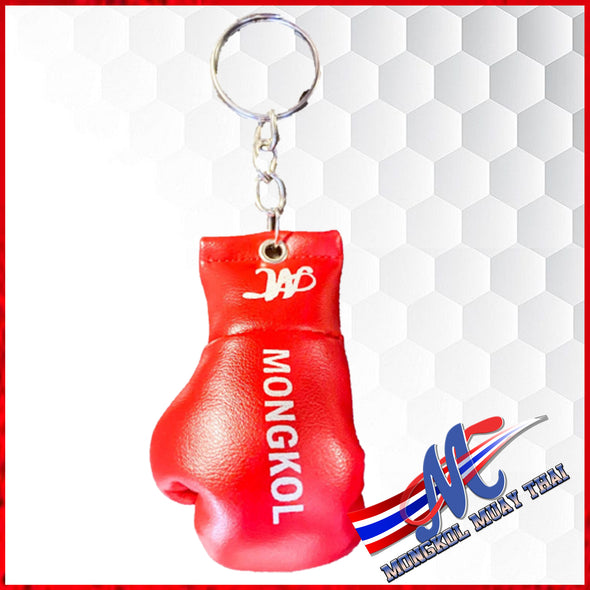 Mongkol keychain mini boxing Red gloves#18