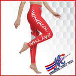 legging red mongkol printed apparel women