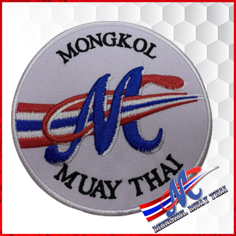 Mongkol patch logo white coloe