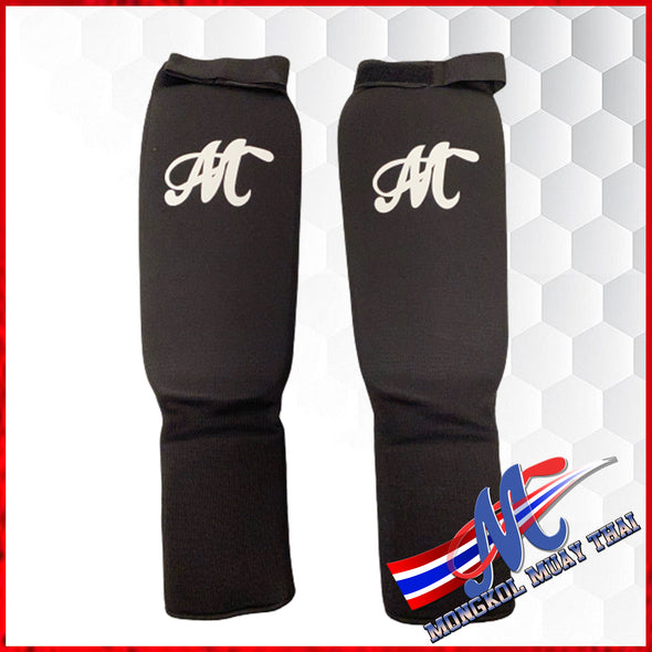 soft shinguards black S, M , L