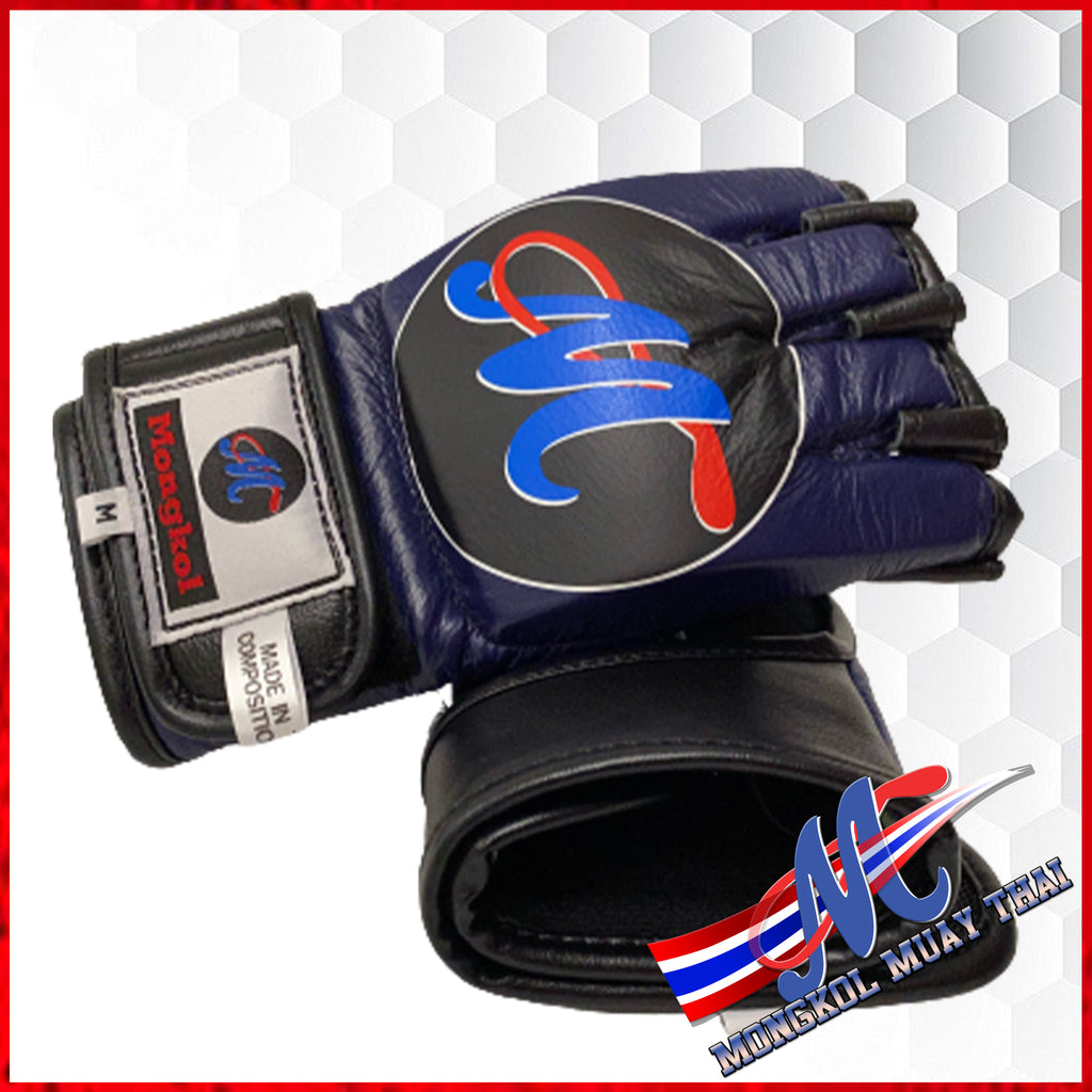 Mongkol MMA gloves Navy Blue (LAST PAIRS)