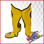 Mongkol Shinguards yellow #8 New edition NEW