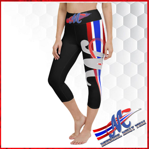 legging black,  mongkol yoga Capri Legging