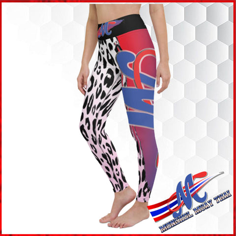 Mongkol Wild Style collection Yoga Leggings