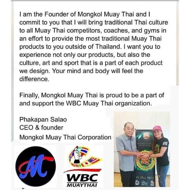 Mongkol Muay Thai Boxing Glove - WBC Collection 18 grey/red thumb/white lace.